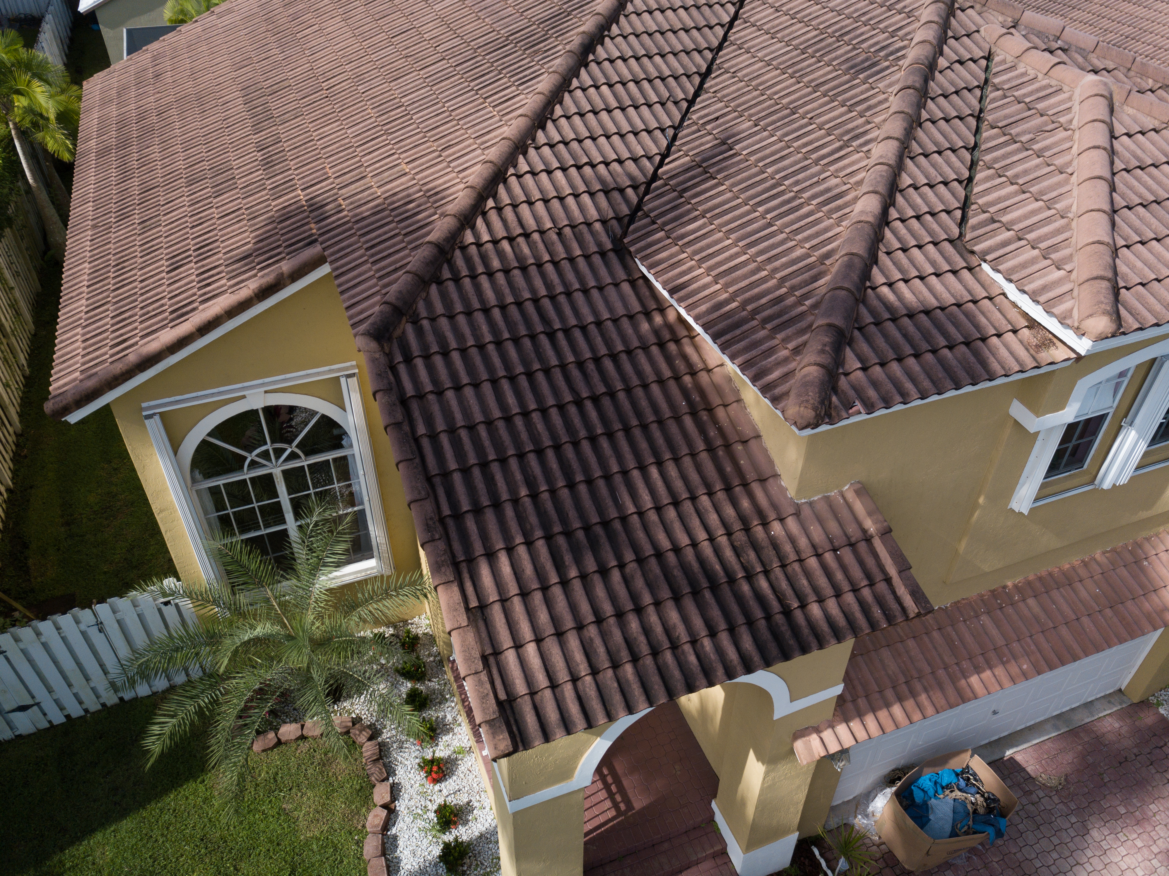 Aerial photography House